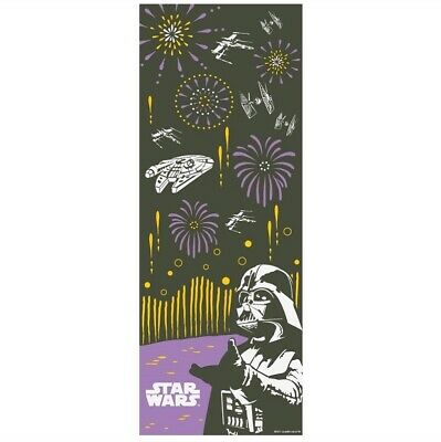 STAR WARS TENUGUI Japanese Cotton Fabric Hand Towel MADE IN JAPAN 90X34cm T21