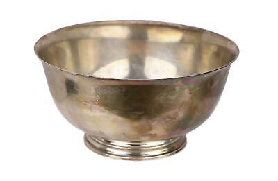 Tiffany & Co. Makers #23616 Sterling Silver Revere Style Bowl 396.5g (1947-1956)
