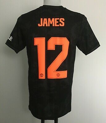 Manchester United 2019/20 S/S Third Shirt James 12 by Adidas Men's Medium BNWT