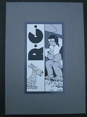 Herge Box 12 Silkscreens Tintin / Jo Zette Jocko/ Quick and Flupke New