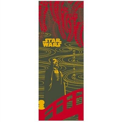 STAR WARS TENUGUI Japanese Cotton Fabric Hand Towel MADE IN JAPAN 90X34cm T14
