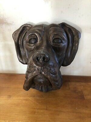 Latex Mould for making this Beautiful Great Dane Head Wall Feature
