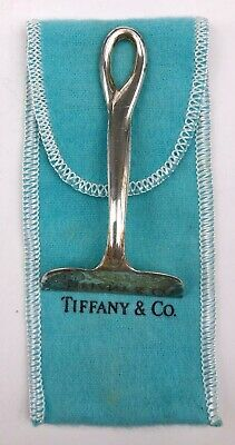 1984 Tiffany & Co Italy Elsa Peretti Sterling Silver Baby Utensil Food Pusher
