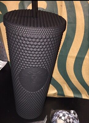 NEW Starbucks Matte Black Studded Tumbler Cup. Fall line 2019 LIMITED EDITION