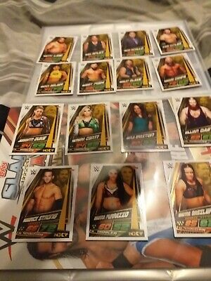Topps wwe slam attax universe15 nxt cards