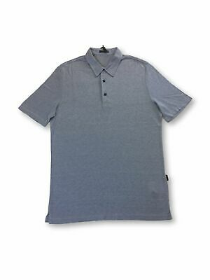 Pal Zileri silk/cotton polo in blue M
