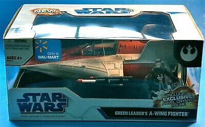 Star Wars Legacy A-Wing Walmart Exclusive Sealed Box