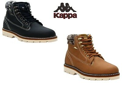 Womens Ladies Kappa Lightweight Fur Lined Casual Winter Warm Ankle Boots Shoes