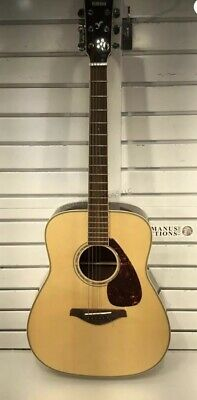 Yamaha FG730S Acoustic Guitar (Natural) (Used) No Case Missing 2 Strings