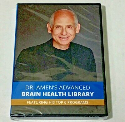 Dr. Amen's Advanced Brain Health Library (DVD) Brand New