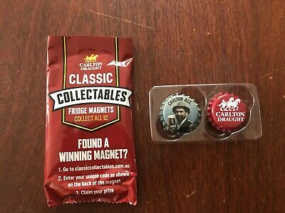 Carlton Draught Classic Collectables Fridge Magnets - Carlton Ale, Draught