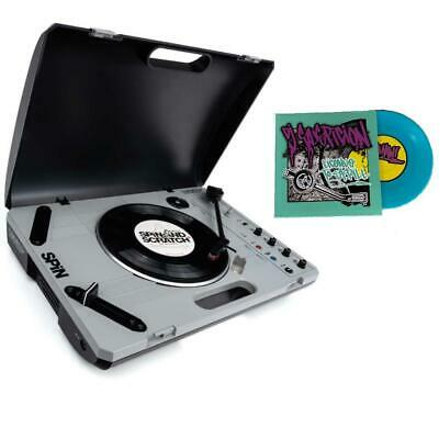 "Reloop Spin Portable Turntable W/ Two Different 7"" Battle Records"
