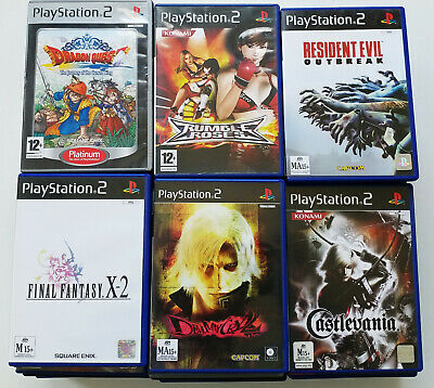 (Fully Tested) Sony PlayStation 2 PS2 Games / Demo, Bulk Lot, Please Choose