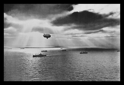 ArtParisienne United Nations Convoy in the Atlantic 1943 U.S. Navy