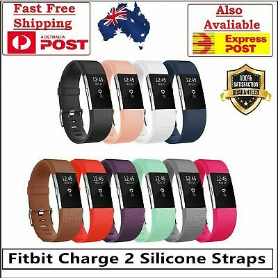 Fitbit Charge 2 Bands Replacement Silicone Wristband Watch Strap Bracelet band