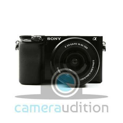 Genuino Sony Alpha a6100 Mirrorless Digital Camera + 16-50mm Lenses (Black)