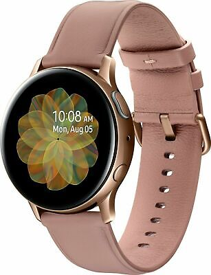 Samsung Galaxy Watch Active 2 SM-R830 40mm Leather Stainless Steel Smartwatch