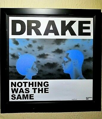 "RARE Numbered 434/10024 INVERTED COLORS NWTS 18"" Album Art Poster Drake OVO 2013"