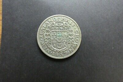 1937 LOVELY HALF CROWN GOOD CONDITION HARD TO FIND YEAR $6.80 in silver
