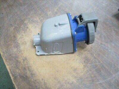 Hubbell Receptacle w/ Base 430R9W 30A 250V 3Ph Used