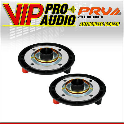 "2x PRV RPD260My Original Replacement Diaphragm For D260My 1"" Compression Driver"