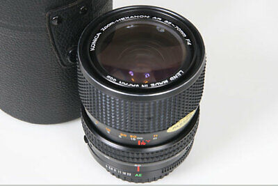 Konica Hexanon 35-70mm f4 Zoom Lens AR mount with case