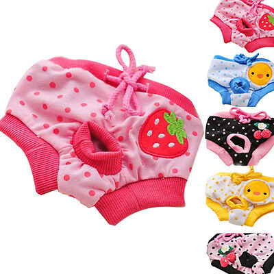 Cute Pet Dog Puppy Diaper Pants Physiological Sanitary Panty Underwear
