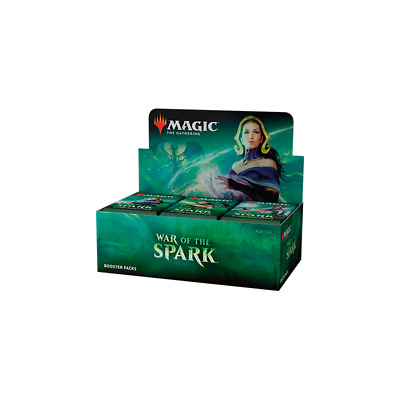 War of the Spark Booster Box - MTG - Sealed Brand New! ENGLISH - SHIPS ASAP!
