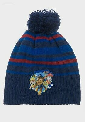 Official Paw Patrol  Children Knitted Bobble hat