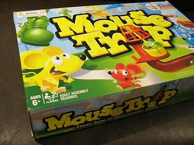 Mouse Trap Board Game - The Crazy Game with 3 Action Contraptions - UNUSED