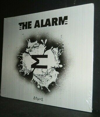 Sigma by The Alarm CD Digipak 2019 Twenty First Century Recording