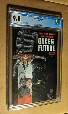 Once & Future #1 1st Print   Boom Comics Sold Out CGC 9.8 NM+/M