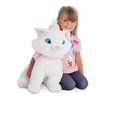 """NWT Disney Store Marie Plush The Aristocrats Large Jumbo 19"""" H Doll toy Huge"""