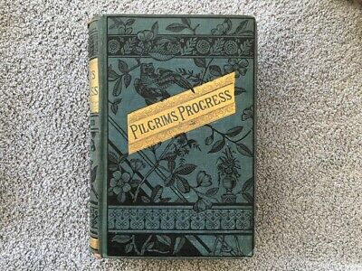 "Vintage Book ""The Pilgrim's Progress"" By John Bunyan Hardcover 1929"