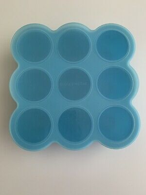 Wean Meister Blue Freezer Pods With Lid