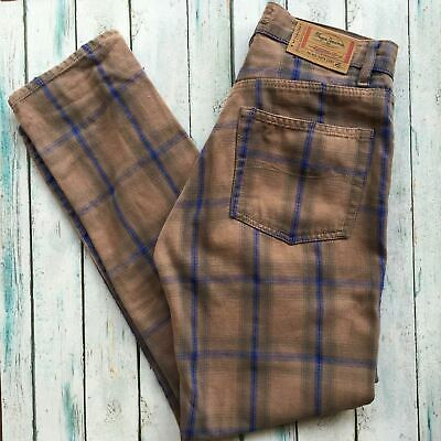 Pepe Plaid 90's Easy Fit - Size 29