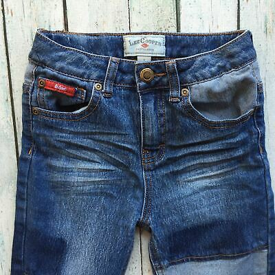 Lee Cooper Boys Patch Jeans - Size 5