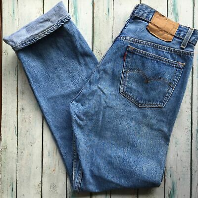 Vintage Relaxed Fit Levi 501's -Size 36R