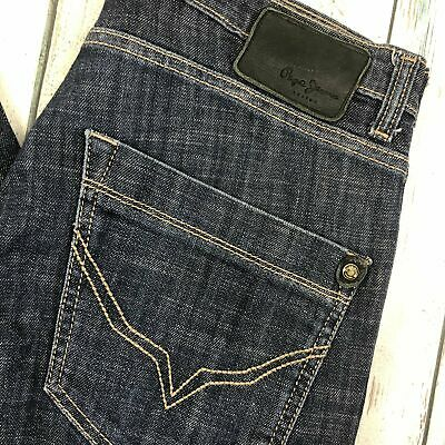 """Pepe London- Mens """"Vapour"""" Stretch Skinny Jeans- Size 32/34"""