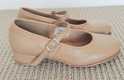 Bloch Children's Tap Shoes - Tan Leather (size 13) - Excellent Condition