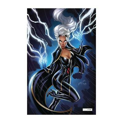 HOUSE of X #5 NYCC 2019 Exclusive J Scott Campbell GITD Variant In hand