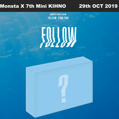 Monsta X FOLLOW-FIND YOU 7th Mini KIHNO Photobook+Photocard+Etc+Tracking Number