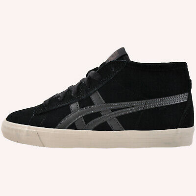 Onitsuka Tiger Fader Mid Junior Vintage Fashion Suede Retro Trainers Black