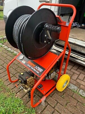 MONUMENT J2-900 Drain Jetter - trolley mounted,, pressure washer 3000psi. petrol