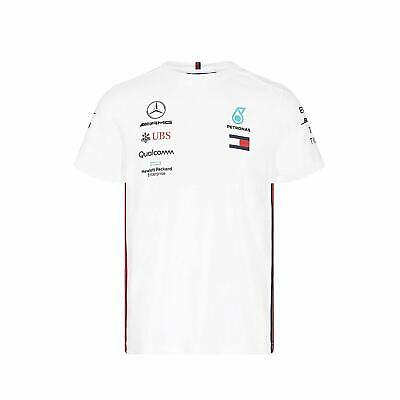 Kid's Mercedes-AMG Petronas Motorsport 2019 F1 Team T-shirt White free UK ship