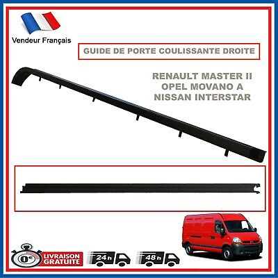 Renault Master 2 Ii Movano Rail Guide Porte Laterale Coulissante 8200163740