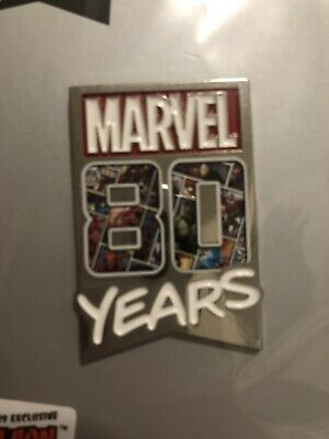 NYCC 2019 Exclusive Pin Marvel 80 Years Limited Rare Sealed