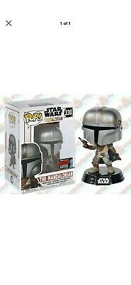 Funko Pop! The Mandalorian Star Wars NYCC Shared Exclusive Preorder Sticker LE