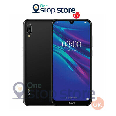 Huawei Y6 2019 Midnight Black 32GB 4G Android Mobile 13MP Unlocked Smart Phone
