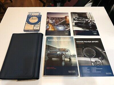 SET 2015 Range Rover Sport Owners Manual
